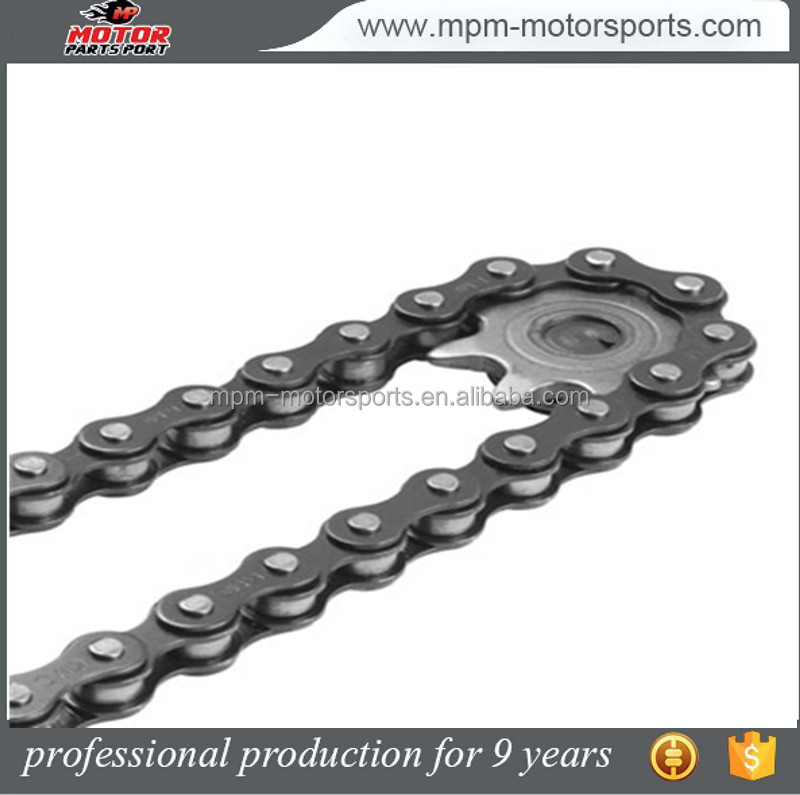 Dirt bike sprockets Steel MotorCycle chain 428 130 Link 140cc 150cc 160cc
