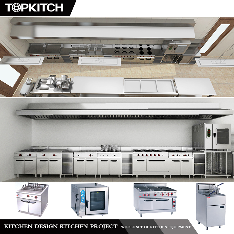 Topkitch Good Reputation Supplying Heavy Duty Commercial Restaurant Equipment Price List