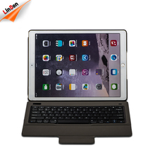 Power saving strong Kick stand Leather Case Slim Wireless keyboard for iPad Pro 12.9 inch BK129-7