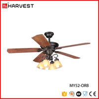 "Canadian Market Can52"" Ceiling Fan Energy saving spiral bulbs"