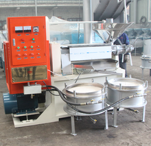 25-40 kg/h Sesame oil presser/screw hot sesame oil presser for Uganda