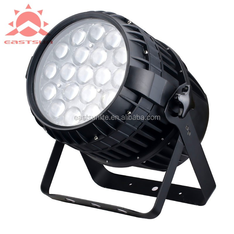 19pcs 15w 4in1 outdoor zoom par light
