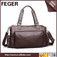 FEGER duffel weekend holdall practical big waterproof sky travel bag