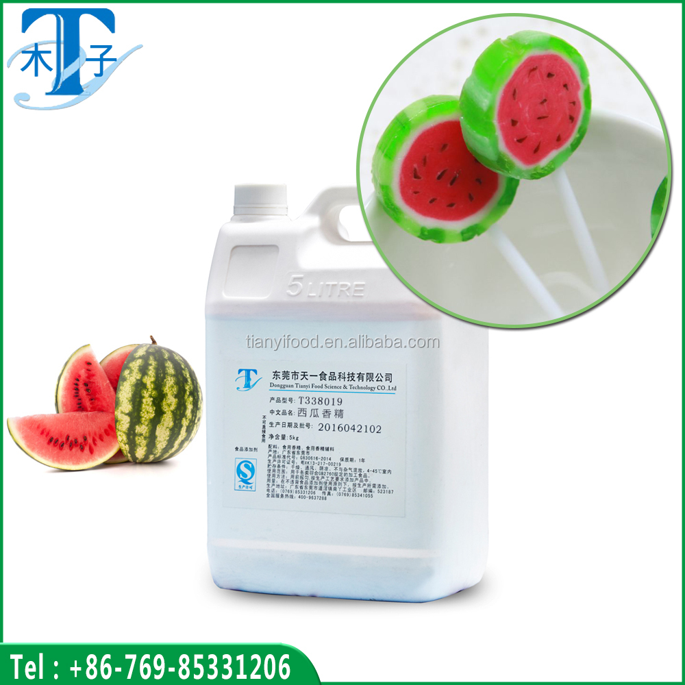 Hot sale natura watermelon flavour use for candy/watermelon candy