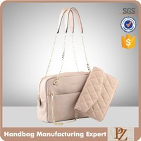 5107 hotsale chain handle bag fashion handbag with quilted purse own brandy handbag