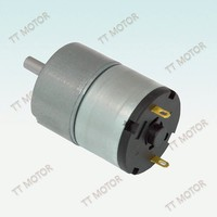 brush motor dc 12V 33mm with reduction gearbox