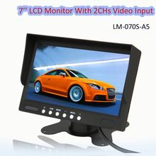 Trucks 7 Inch 12V DC Input Stand Alone Auto LCD Monitor