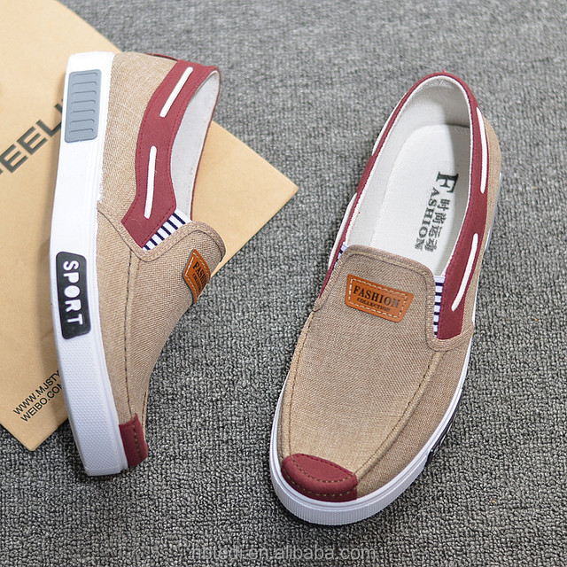 factory Cheap men canvas PVC injected school shoes
