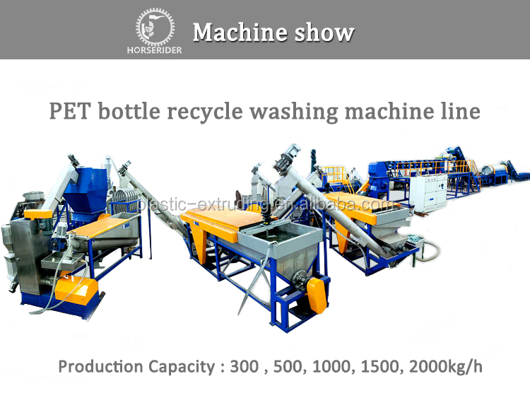 PET BOTTLE FLAKES SCRAPS WASHING RECYCLING DRYING LINE/ WASTE PLASTIC PET FLAKES RECYCLED GRANULATING PRODUCTION MACHINE PRICE