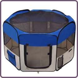 BSCI Factory Audited Fabric Pet Playpen Dog Playpen