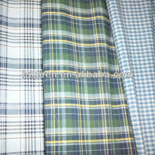 yarn dyed combed polyester cotton high count poplin fabrics