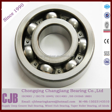 Certified High quality Single Row deep groove ball bearing from China