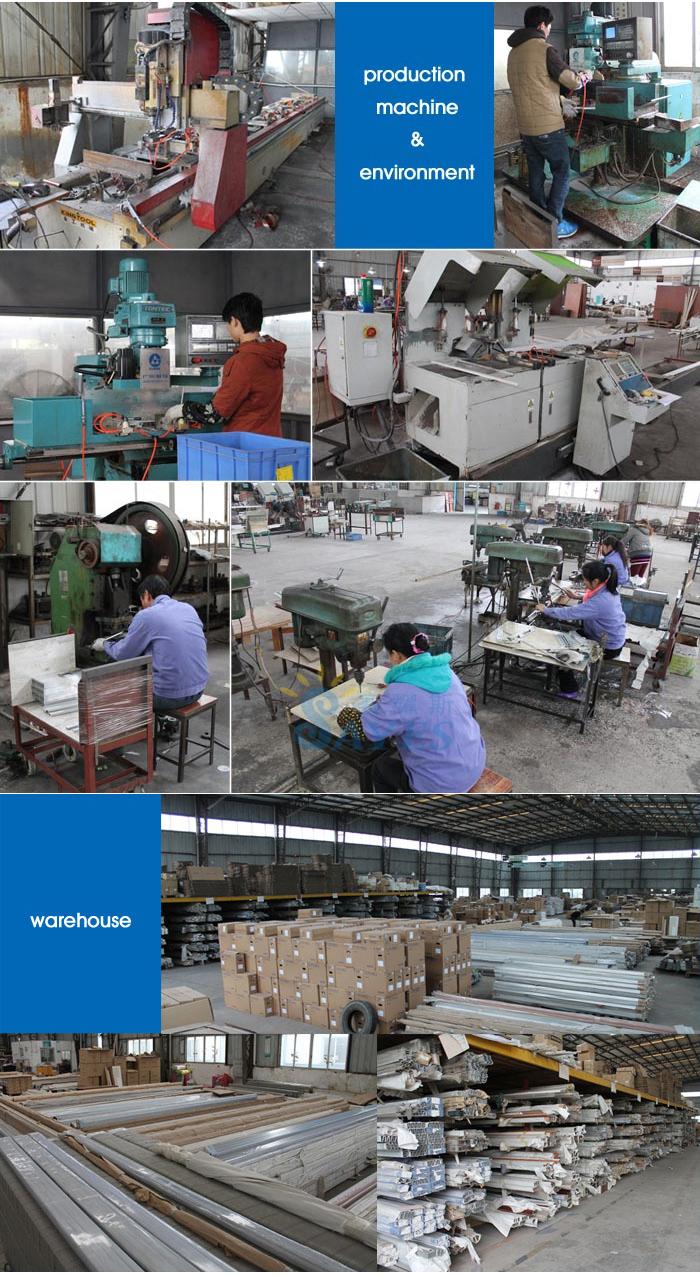 China leverancier aluminium slaapkamer garderobe ontwerpen ...