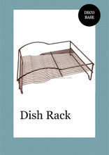 Stainless Steel Dish Drainer Rack Hanging Dish Rack
