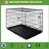 Iron wire foldable dog crate