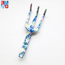 Floral new design types aluminium mini hand garden claw rake