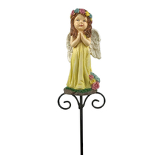 14247 Handmade modern sculpture high quality resin figurine fairy