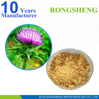 Pure milk thistle extract powder.dry water soluble milk thistle extract