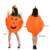Women Girls Nonwovens Pumpkin Dresses Witch Cosplay Costume