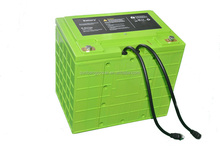 deep cycle rechargeable LiFePo4 12v 100ah battery for solar system
