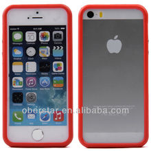 TPU Rubber Thin Silicone Skin Case Bumper for iPhone 5 5S 5G
