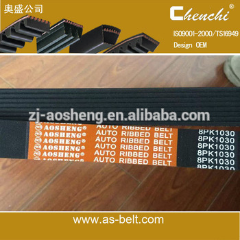 Automotive belt rubber belt 7PK1970