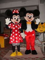 Hot sale Vivid different design Mickey and Minnie mascot costume with factory price