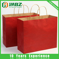 Shopping Industrial Use and Paper Material T-shirt kraft paper bags for shopping