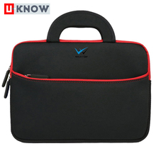 Factory direct sales tablet sleeve portable neoprene zipper carrying case brand laptop bag