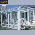 Outdoor patio aluminium glass house room
