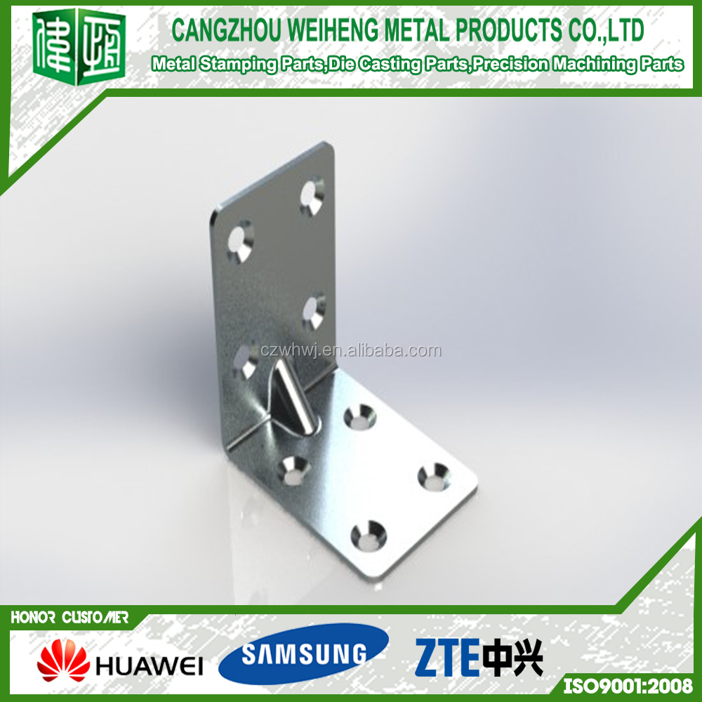 Electrical Zinc Plated Sheet Metal Stamping Parts machine de fabrication, Steel / Bronze / Aluminum Bending Process