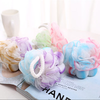 Factory Wholesale Cheap Flower Shaped Mesh Bath Sponge