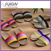 Wholesale fashion comfortable straw slippers women in stocks 2017