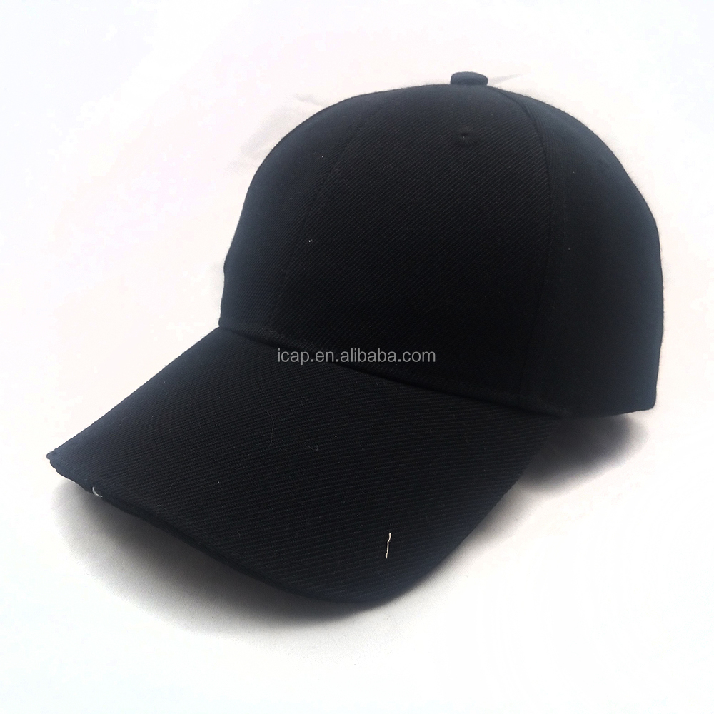 factory wholesale Led lighted baseball caps and hats