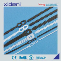 High quality releasable cable tie PE material