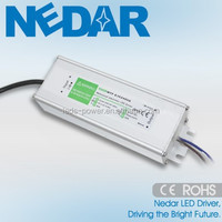 2015 NEW 60W/70W/80W 2400mA waterproof led driver constant current with TUV CE