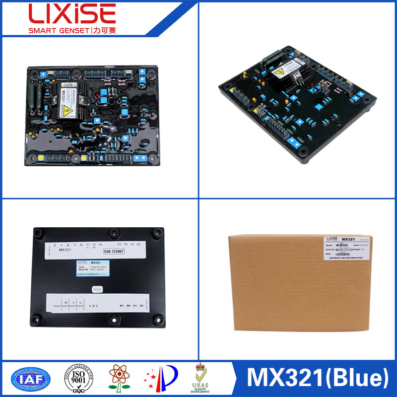 Mx321 Lixise Automatic Voltage Regulator For Generator Avr