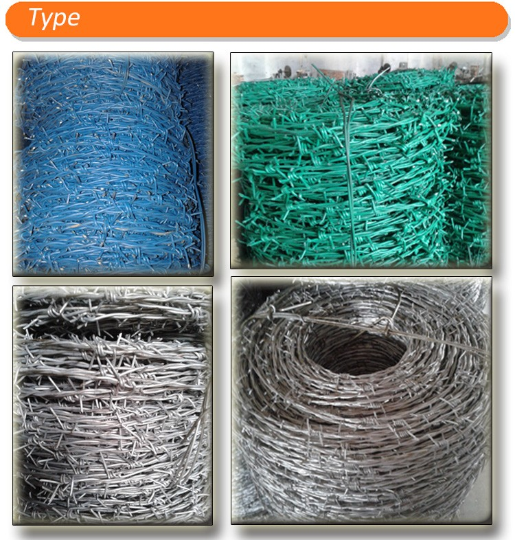 Double / Single Straight Security Razor Wire Roll Fencing With PVC ...