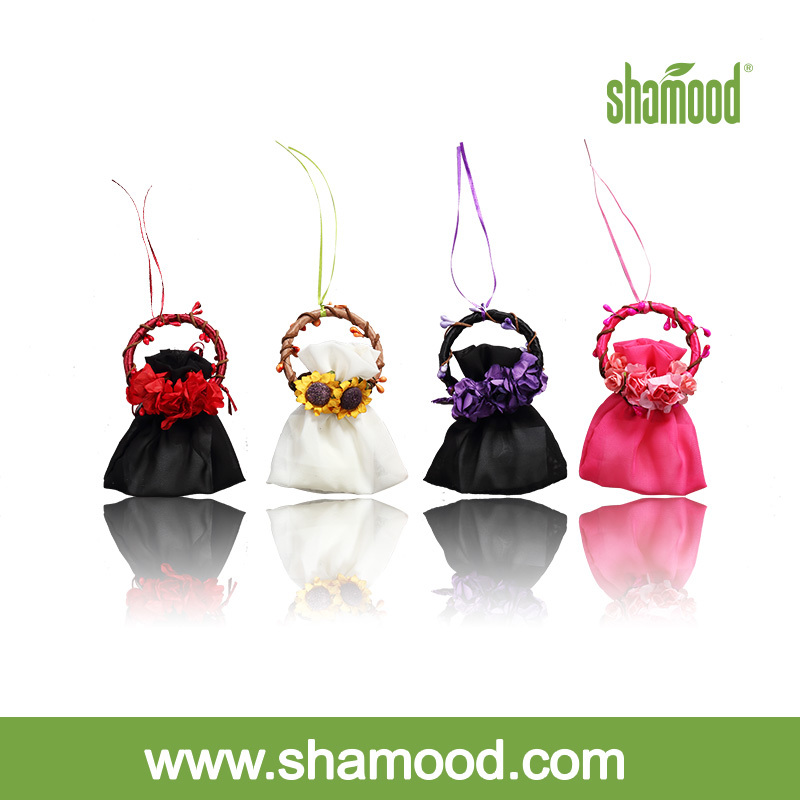 Shamood Garland Satchel Hanging Car Air Freshener