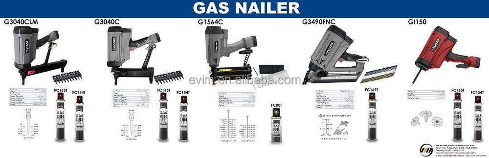 CN50WP Wire and Plastic 2 In 1 Coil Nailer