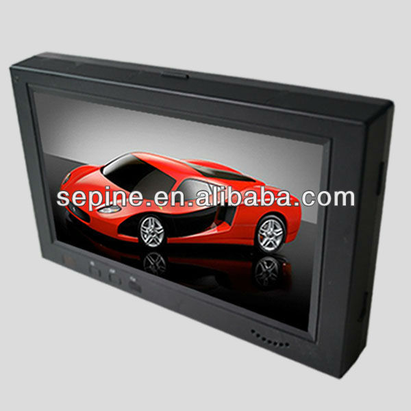 car dvd player wifi monitor taxi /cab/car lcd advertising screen