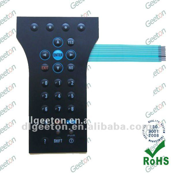 Tactile PET Custom Embossed Button Membrane Keypad Manufacturer