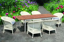 Wicke Dining Furniture Set for Garden Use