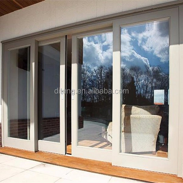RSP80 Aluminum sliding wooden doors hardware, European style interior barn doors,