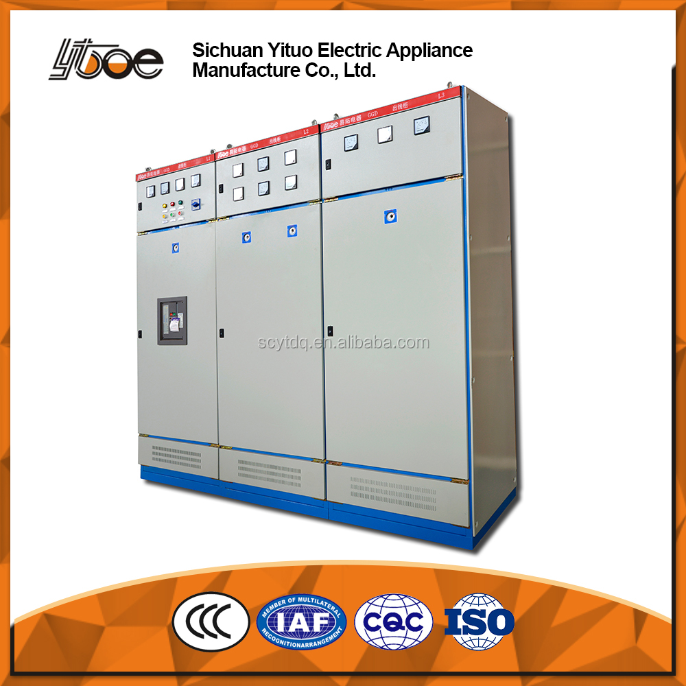 GGD Series Low voltage Fixed Electrical Switch Panel Board Cabinets