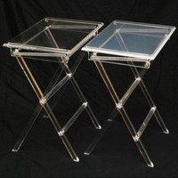 Wholesale Custom Furniture Transparent Folding Acrylic