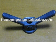 concrete formwork butterfly wing nut with bolt for construction