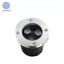 3W RGB Color Changing Low Voltage 12V outdoor underground Light