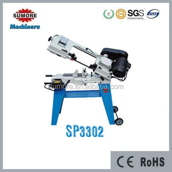 Metal cutting band sawing machine price sp3302