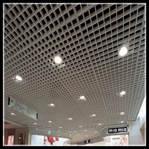 Vented ceiling tiles